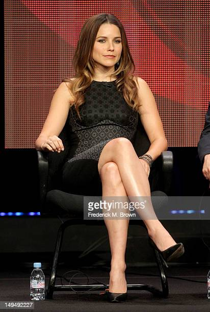 Actress Sophia Bush speaks at the 'Partners' discussion panel during the CBS portion of the 2012 Summer Television Critics Association tour at the...