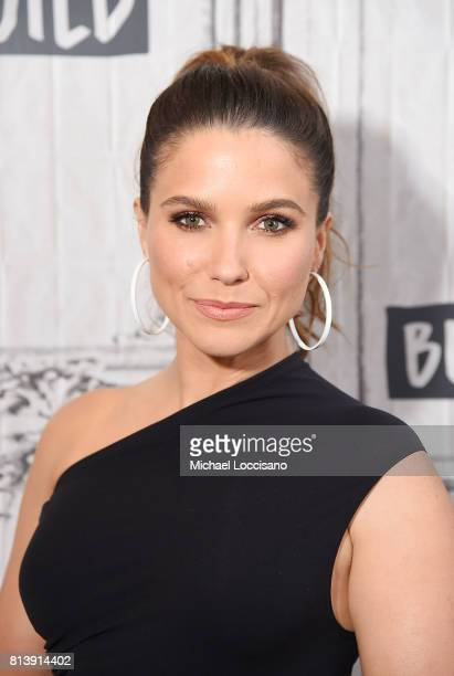 Actress Sophia Bush visits the Build Series to discuss The #NoHormonesPlz Initiative at Build Studio on July 13 2017 in New York City