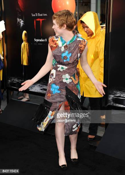 Actress Sophia Lillis attends the premiere of 'It' at TCL Chinese Theatre on September 5 2017 in Hollywood California