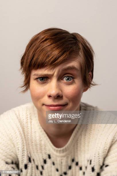 Actress Sophia Lillis from 'Uncle Frank' is photographed in the LA Times Studio at the Sundance Film Festival on January 26 2020 in Park City Utah...