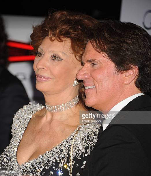 Actress Sophia Loren and director Rob Marshall arrive the AFI FEST 2014 special tribute to Sophia Loren held at The Dolby Theater in Hollywood