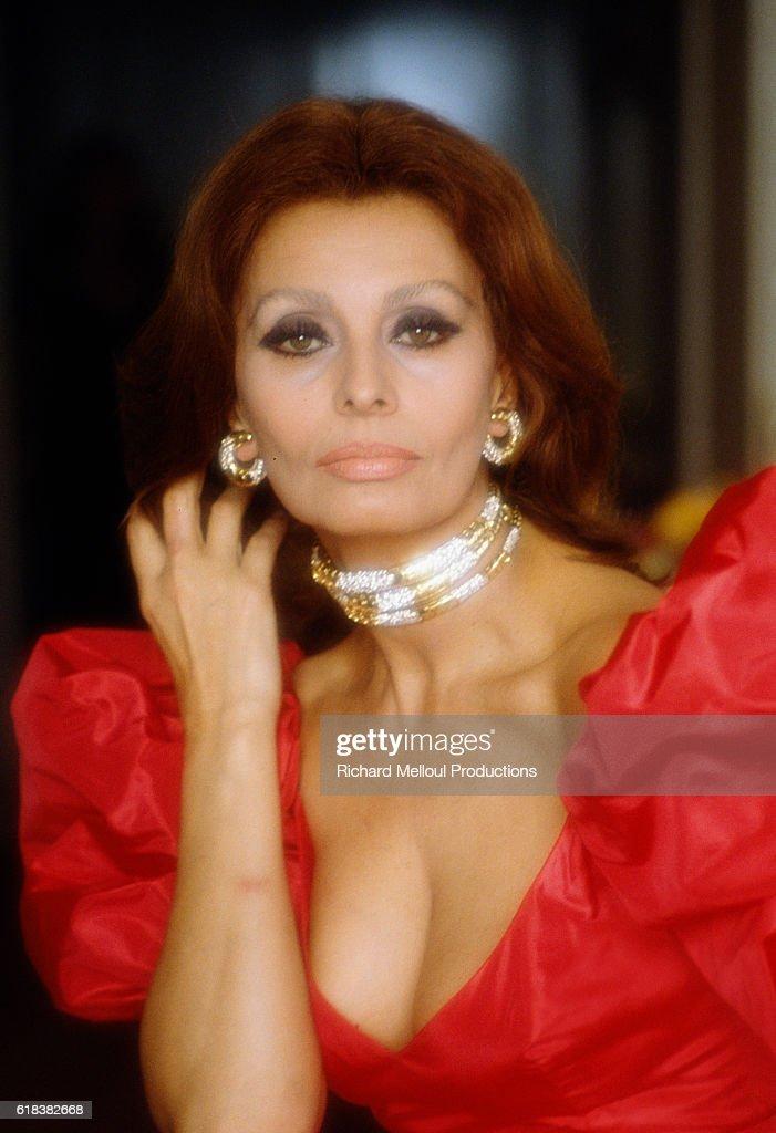 Italian Actress Sophia Loren : Photo d'actualité