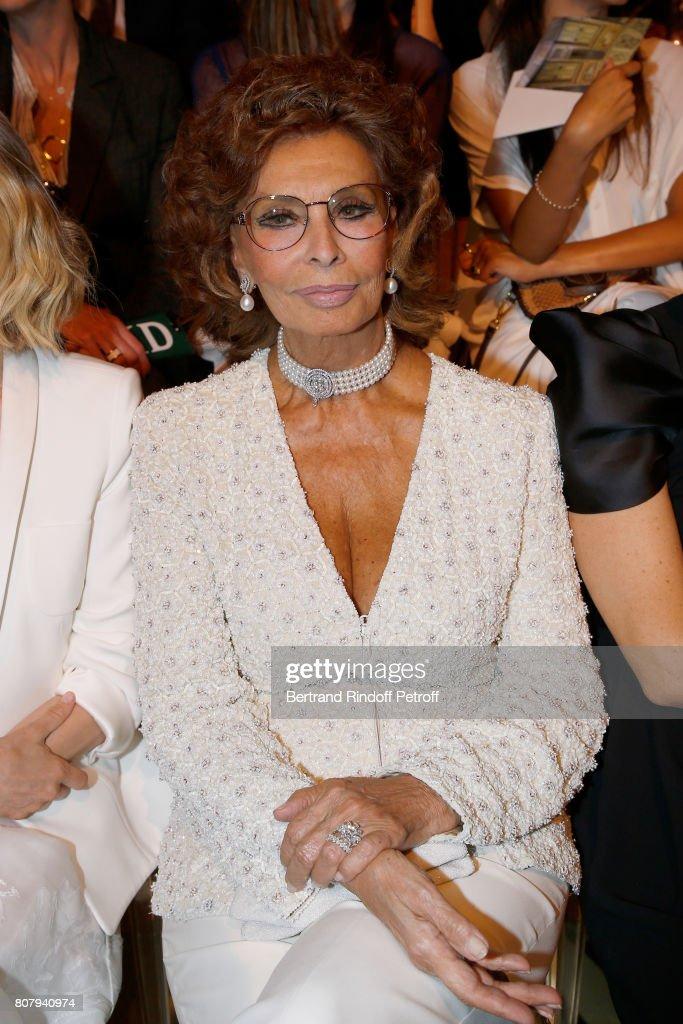 Giorgio Armani Prive : Front Row - Paris Fashion Week - Haute Couture Fall/Winter 2017-2018