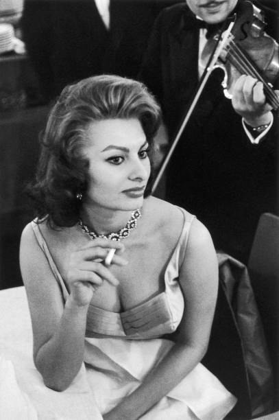 actress sophia loren in the 1950s photos com