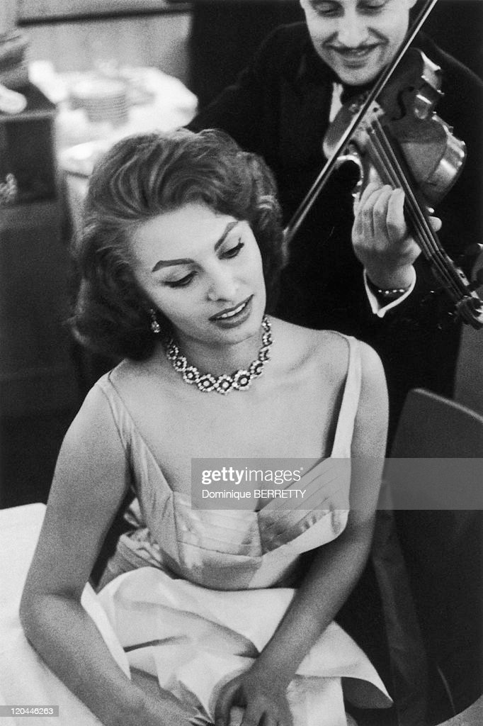 Actress Sophia Loren In The 1950S - : News Photo