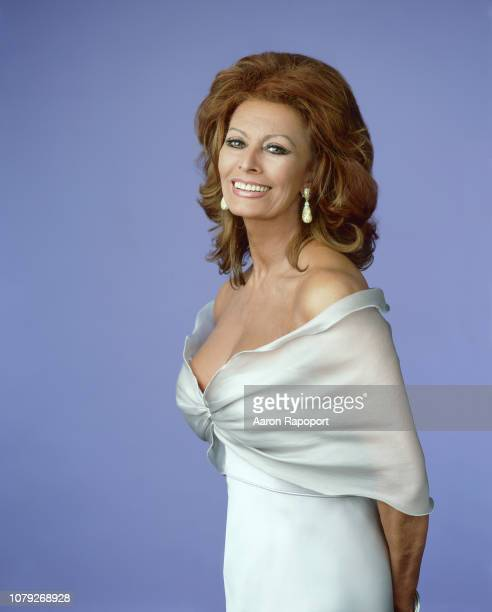 Actress Sophia Loren poses for a portrait in Los Angeles California