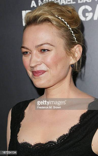 Actress Sophia Myles attends the premiere of Paramount Pictures' Pain Gain at the TCL Chinese Theatre on April 22 2013 in Hollywood California
