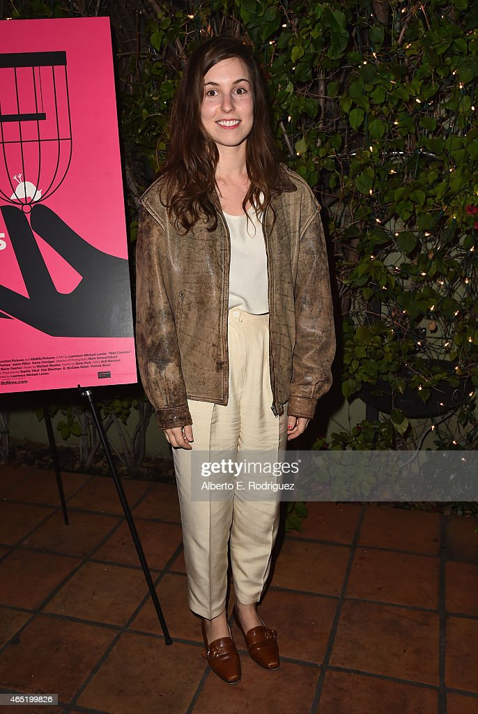 Actress Sophia Takal attends a screening of 'Wild Canaries' at Cinefamily on March 3, 2015 in Los Angeles, California.