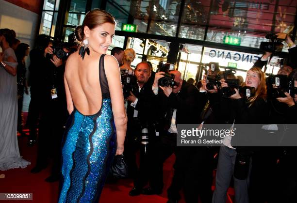 Actress Sophia Thomalla attends the German TV Award 2010 at Coloneum on October 9 2010 in Cologne Germany