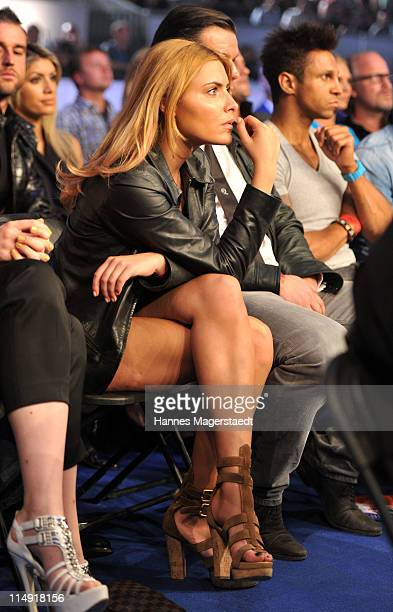 Actress Sophia Thomalla attends the 'Night Of The Champions' Box Event at the Olypia Eisstadion on May 28 2011 in Munich Germany