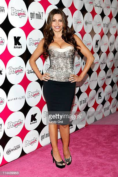 Actress Sophia Vergara attends the 15th annual People en Espanol '50 Most Beautiful' Issue Celebration at Guastavino's on May 19 2011 in New York City