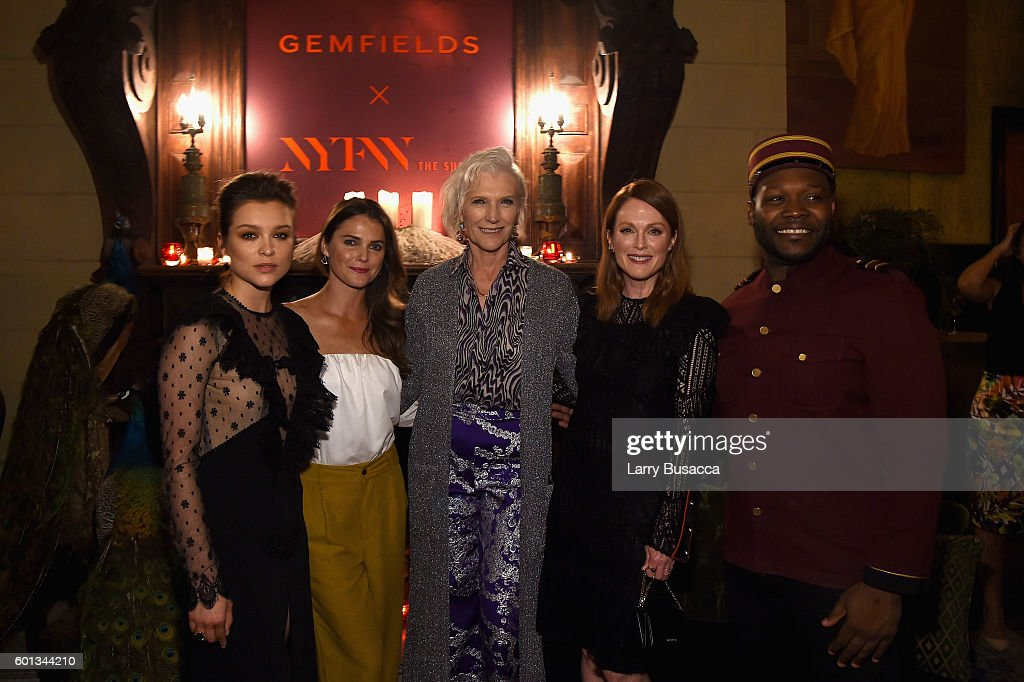Gemfields In Conversation Cocktail Party - September 2016 - New York Fashion Week: The Shows