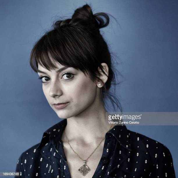 Actress Sophie Desmarais of 'Sarah Prefere La Course' poses for a portrait during The 66th Annual Cannes Film Festival on May 24 2013 in Cannes France