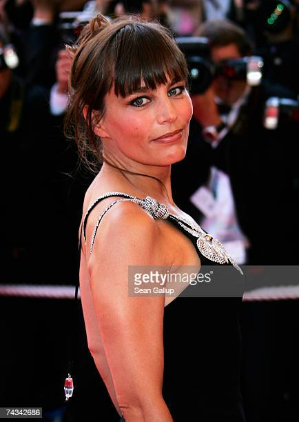 Actress Sophie Duez attends the 60th International Cannes Film Festival closing ceremony and L'Age des Tenebres arrivals at the Palais des Festivals...
