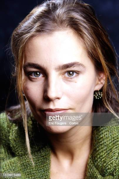 Actress Sophie Duez poses during a portrait session in Paris France on