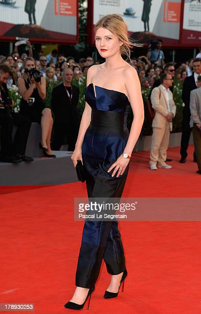 Actress Sophie Kennedy Clark attends the 'Philomena' Premiere during The 70th Venice International Film Festival at the Palazzo del Casino on August...