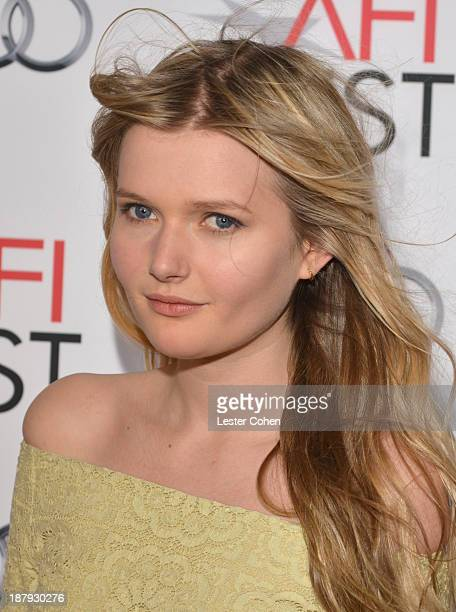 Actress Sophie Kennedy Clark attends the 'Philomena' special screening during AFI FEST 2013 presented by Audi at TCL Chinese Theatre on November 13...