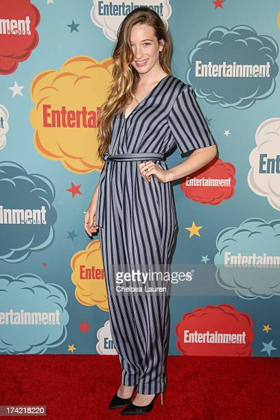 Actress Sophie Lowe arrives at Entertainment Weekly's annual ComicCon celebration at Float at Hard Rock Hotel San Diego on July 20 2013 in San Diego...