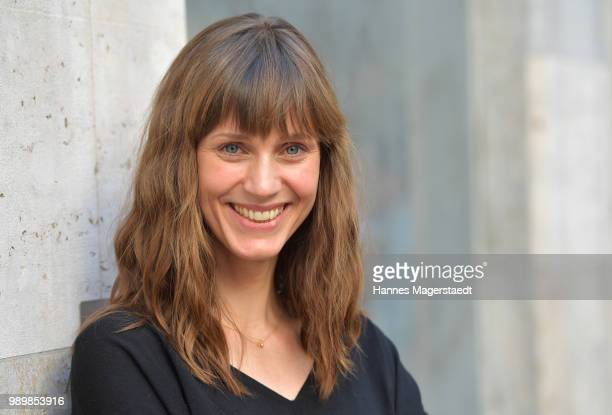 Actress Sophie Lutz attends the premiere of the movie 'Hanne' as part of the Munich Film Festival 2018 at Gloria Palast on July 2 2018 in Munich...