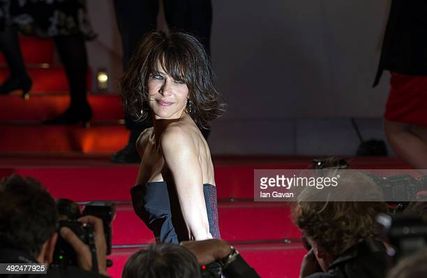 Actress Sophie Marceau attends the Lost River premiere during the 67th Annual Cannes Film Festival on May 20 2014 in Cannes France