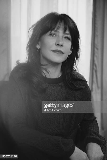 Actress Sophie Marceau is photographed for Self Assignment on February 2018 in Paris France