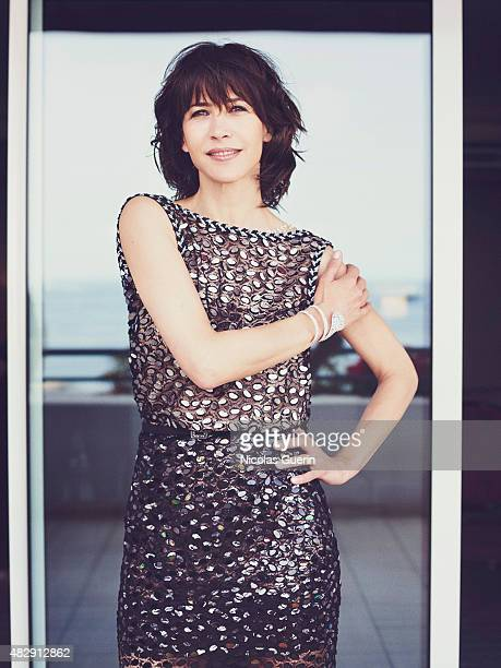 Actress Sophie Marceau is photographed on May 15 2015 in Cannes France