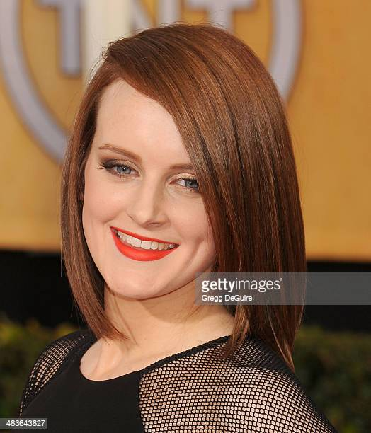 Actress Sophie McShera arrives at the 20th Annual Screen Actors Guild Awards at The Shrine Auditorium on January 18 2014 in Los Angeles California