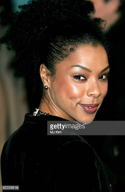 Actress Sophie Okonedo arrives at the UK Premiere of Hotel Rwanda at Vue Leicester Square on February 21 2005 in London Sophie Okonedo is nomitaed...