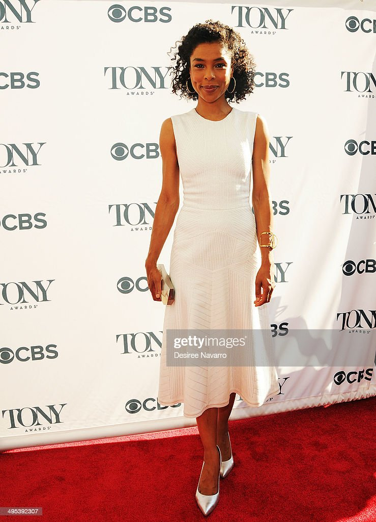 Actress Sophie Okonedo attends the 2014 Tony Honors Cocktail Party at Paramount Hotel on June 2, 2014 in New York City.
