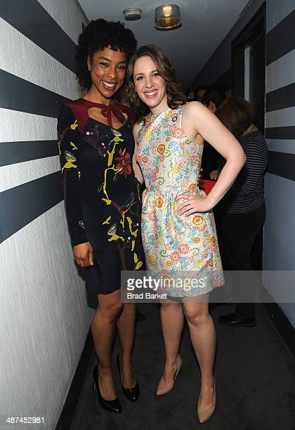Actress Sophie Okonedo nominee for Best Performance by an Actress in a Featured Role in a Play for 'A Raisin in the Sun' and Jessie Mueller nominee...