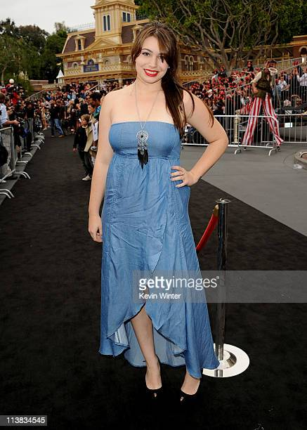 """Actress Sophie Simmons arrives at premiere of Walt Disney Pictures' """"Pirates of the Caribbean: On Stranger Tides"""" held at Disneyland on May 7, 2011..."""