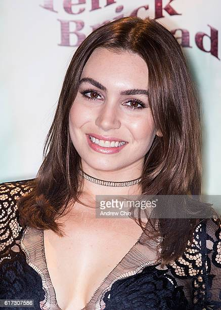 Actress Sophie Simmons attends the 17th Annual Yellow Brick Road Gala of Hope at Newlands Golf and Country Club on October 22 2016 in Langley Canada