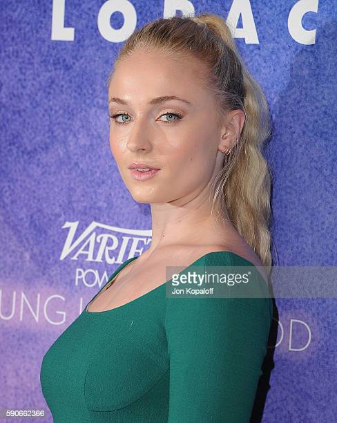 Actress Sophie Turner arrives at Variety's Power Of Young Hollywood at NeueHouse Hollywood on August 16 2016 in Los Angeles California