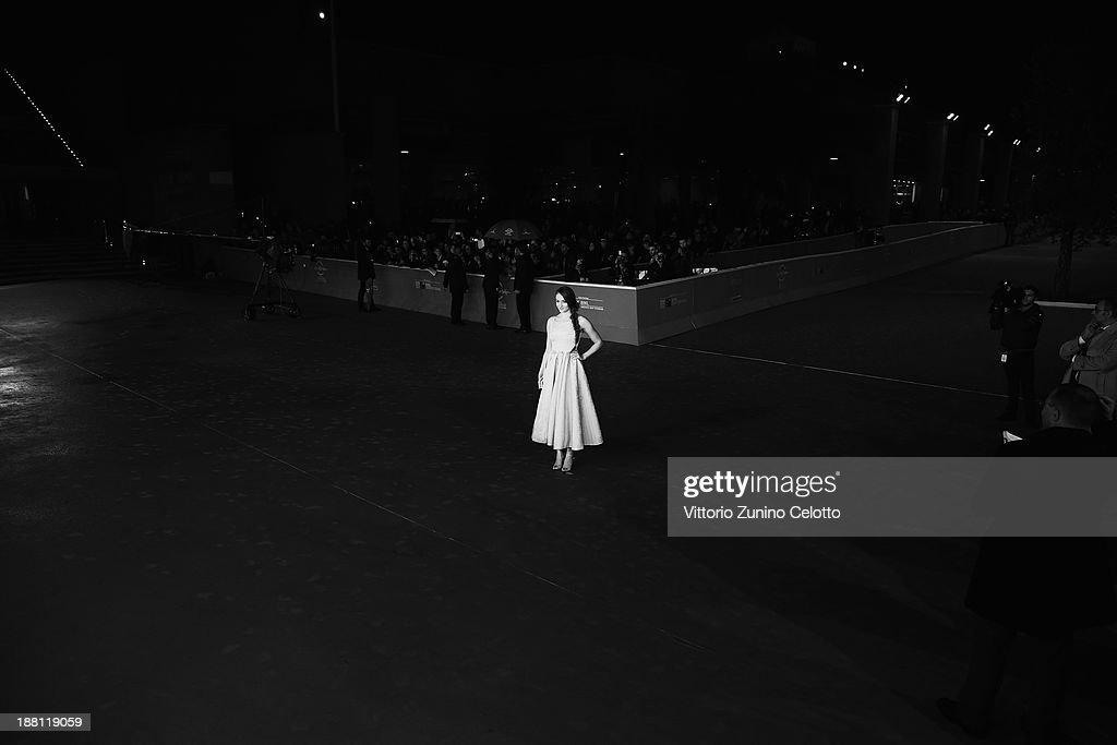 Actress Sophie Turner attends 'Another Me' Premiere during The 8th Rome Film Festival on November 15, 2013 in Rome, Italy.