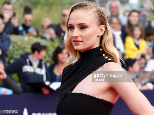 Actress Sophie Turner attends the Heavy Photocall of the 45th Deauville American Film Festival on September 7 2019 in Deauville France