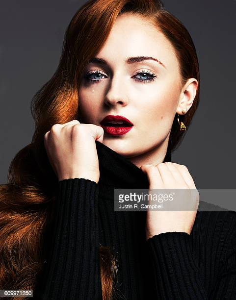 Actress Sophie Turner is photographed for Just Jared on April 9 2016 in Los Angeles California