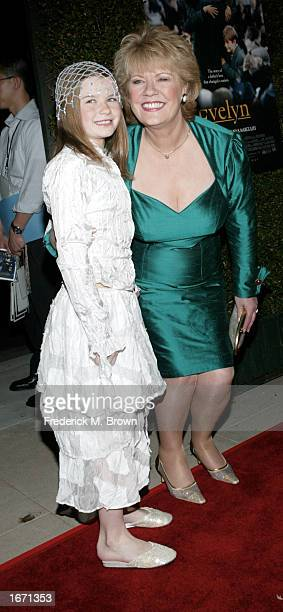 Actress Sophie Vavasseur and Evelyn Doyle attend the film premiere of Evelyn on December 3 2002 in Beverly Hills California The film opens nationwide...