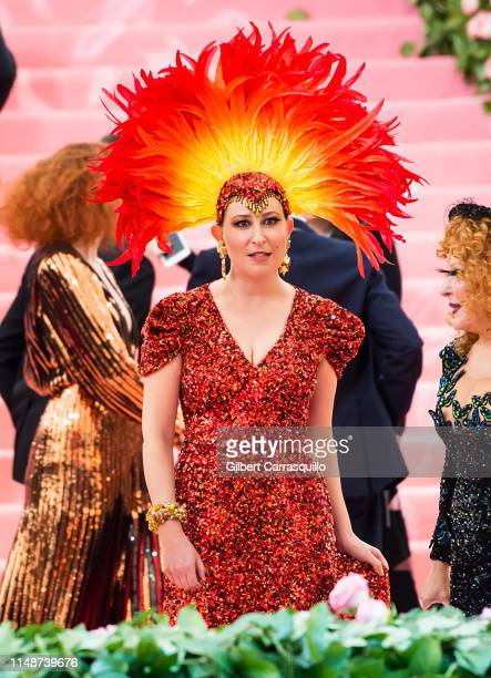 Actress Sophie Von Haselberg is seen arriving to the 2019 Met Gala Celebrating Camp: Notes on Fashion at The Metropolitan Museum of Art on May 6,...