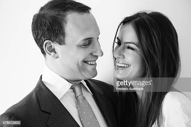Actress Sophie Winkelman also referred to as the Lady Frederick Windsor is photographed with her husband Lord Frederick Windsor for Self Assignment...
