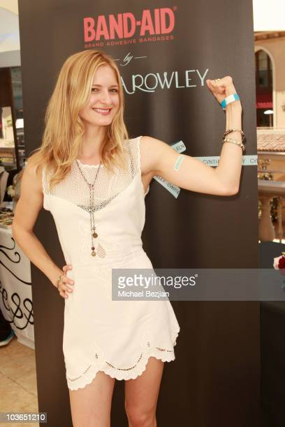 Actress Sorel Carradine at the Band-Aid booth during Kari Feinstein Primetime Emmy Awards Style Lounge Day 1 held at Montage Beverly Hills hotel on...