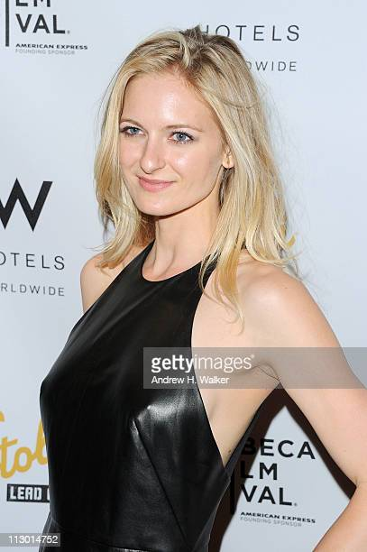 Actress Sorel Carradine attends the Tribeca Film Festival afterparty for The Good Doctor hosted by Stolichnaya Vodka at The W Hotel New...