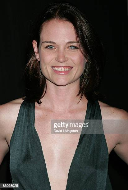 Actress Sprague Grayden attends a party hosted by InStyle Magazine for Tommy Hilfiger's Bravo TV special at the Thompson Hotel on October 2 2008 in...