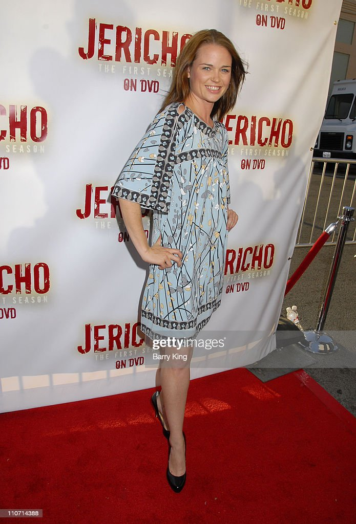 Actress Sprague Grayden attends the 'Jericho' First Season DVD launch party held at Crimson Hollywood on October 2, 2007 in Hollywood, California.