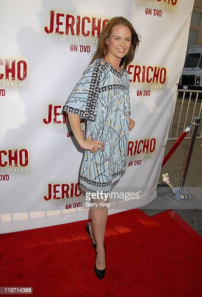 Actress Sprague Grayden attends the 'Jericho' First Season DVD launch party held at Crimson Hollywood on October 2 2007 in Hollywood California