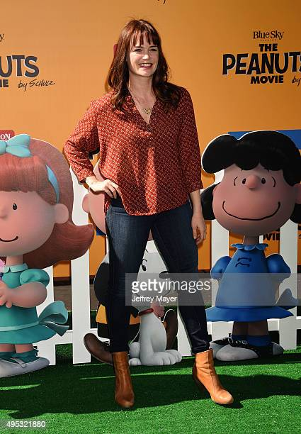 Actress Sprague Grayden attends the premiere of 20th Century Fox's 'The Peanuts Movie' at the Regency Village Theatre on November 1 2015 in Westwood...