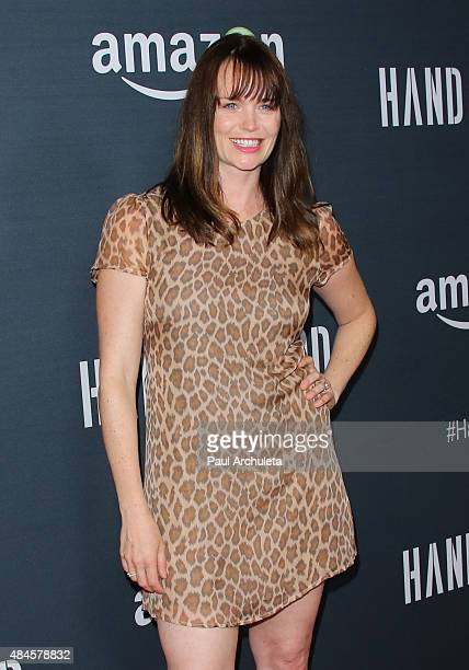 Actress Sprague Grayden attends the premiere of Amazon's series Hand Of God at Ace Theater Downtown LA on August 19 2015 in Los Angeles California