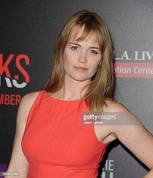 Actress Sprague Grayden attends the premiere of 'When the Bough Breaks' at Regal LA Live Stadium 14 on August 28 2016 in Los Angeles California