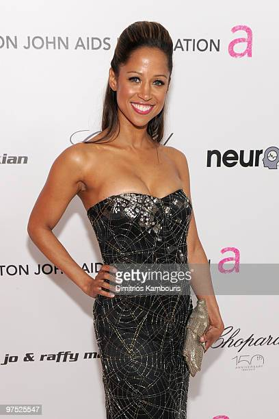 Actress Stacey Dash arrives at the 18th Annual Elton John AIDS Foundation Oscar party held at Pacific Design Center on March 7 2010 in West Hollywood...