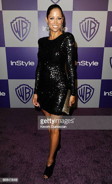 Actress Stacey Dash arrives at the InStyle and Warner Bros 67th Annual Golden Globes after party held at the Oasis Courtyard at The Beverly Hilton...
