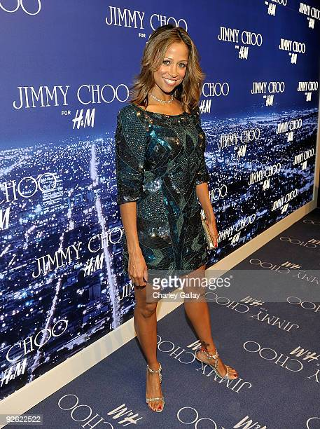 Actress Stacey Dash arrives at the Jimmy Choo for HM Collection private event in support of the Motion Picture Television Fund on November 2 2009 in...